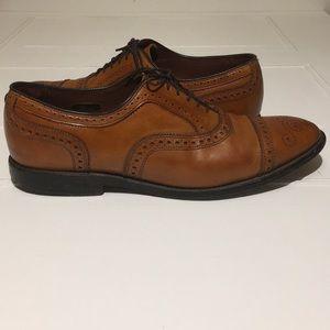 Allen Edmonds Men's Brown Oxford Dress Shoe